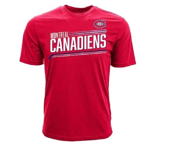 tshirt des canadiens montreal