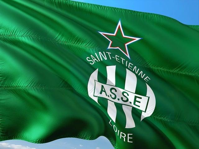 drapeau saint etienne